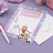Scooter Girls Invitations (10)